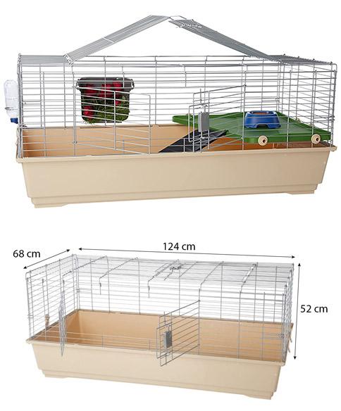 jaula amazonbasics para roedores